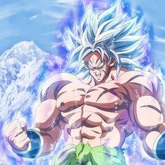 Broly, Super Saiyan Blue, Dragon Ball Super Broly