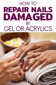10 Ways To Repair Damaged Nails After Gel And Acrylics Gel or acrylic nails can cause so much damage to your nails. I am giving you the exact process of repairing your nails naturally one step at a time. Nails After Acrylics, Gel Acrylic Nails, Gel Nail, Nail Polish, Natural Antifungal, Tongue Health, Damaged Nails, Nail Oil, Nail Care Tips