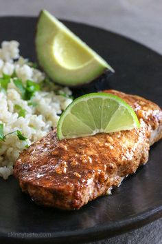 Quick Garlic-Lime Marinated Pork Chops