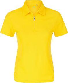 Deco (Yellow) Nivo Ladies & Plus Size Essential Short Sleeve Golf Shirts at #lorisgolfshoppe