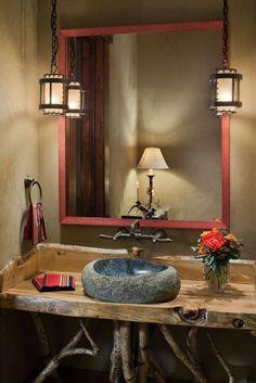 Elk Ridge Lodge Interior traditional bathroom