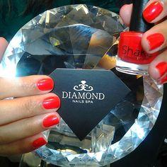 Apimente suas relações! Spicy, Shaka  #diamondnailsspa #nailsspa #spa #nailpolish #esmaltes #esmaltesturcos #instanails #instaunhas