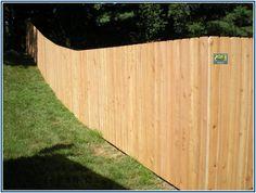 Amazing Cheapest Wood Fence