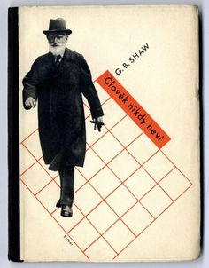 George Bernard Shaw - You never can tell cover design by Ladislav Sutnar