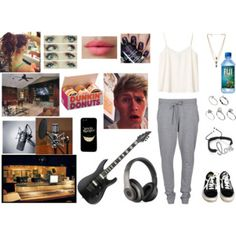 Recording studios with Niall
