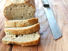 Amazing and easy to make paleo sandwich bread recipe. Nut-free, yeast-free, and coconut-free. REID note: sub vinegar with lemon juice.