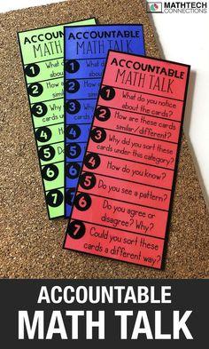Fractions: Area Models & Equal Sharing Problems - - Part 1 - Math Tech Connections Math Wall, Math Word Walls, Math Sorting Activities, Interactive Activities, Math Games, Accountable Talk, Teaching Math, Kindergarten Math, Kindergarten Literacy