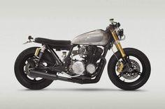 yowzers. a gorgeous Kawasaki kz650 rebuild.