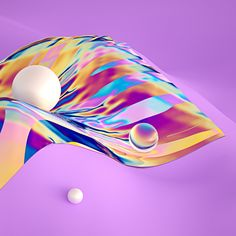 These Iridescent Graphics Inspire Childhood Nostalgia | The Creators Project