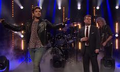 James Corden wows while performing with Queen