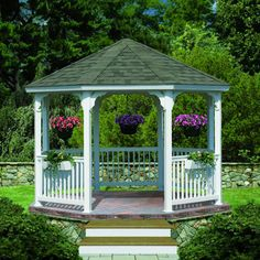 Ready to transform your backyard into your own private sanctuary? Start with this DIY octagonal gazebo. A soothing space—you can use it to entertain family and friends or simply lounge after a long day.