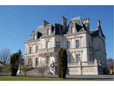 Angoulême, FR Superb 19th century chateau surrounded by a park of 5 hectares in the countryside of Charente.