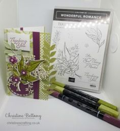 InspireINK Blog Hop – For a Special Lady – Christine's Crafting by Christine Bettany
