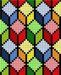Картинки по запросу вышивка крестом геометрические узоры