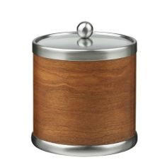 Ice Bucket for sale online Wine Chillers, Bucket With Lid, Wood Veneer, Home Kitchens, Barware, Hardwood, Artisan, American, Ice Buckets