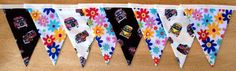 Campervan Fabric Bunting by MollyFelicityDesigns on Etsy, £10.00