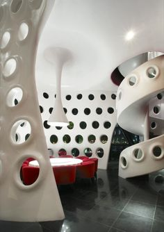 Honeycomb restaurant in Shenzhen, China