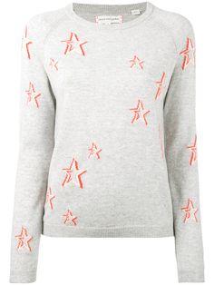 New Superdry Factory Second Womens Star Gaze Instarsia Knit Jumper Grey