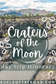 Don't miss Idaho's hidden gem - Craters of the moon national monument! A very unique place to hike and explore caves! Stop here while traveling through Idaho on your USA road trip and follow this 1 day itinerary for a great day of exploring this United States gem! #idaho #usa #cratersofthemoon #caves Usa Travel Guide, Travel Usa, Travel Guides, Travel Tips, Us Travel Destinations, Places To Travel, Wyoming, Utah, Pacific West