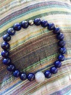 Speak your truth and manifest through meditation. Beaded Necklace, Beaded Bracelets, Stavanger, Lapis Lazuli, Jasper, Jewlery, Meditation, Gemstones, Shop