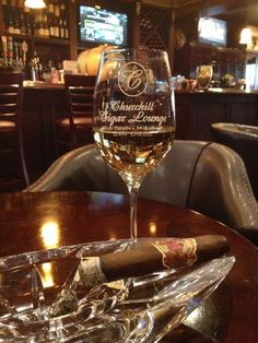 Churchill Cigar Lounge - This is the life... - San Diego, CA, United States