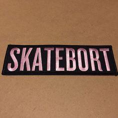Landlocked? Turn Beyonces SURFBORT into a SKATEBORT. 6.5 inch wide embroidered patch.