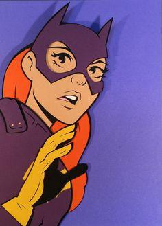 Batgirl Cardboard Cutout