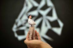 Impressão em 3D - Retratos do futuro... no presente - High-Tech Girl   TwinKind, uma impressão em 3D muito especial