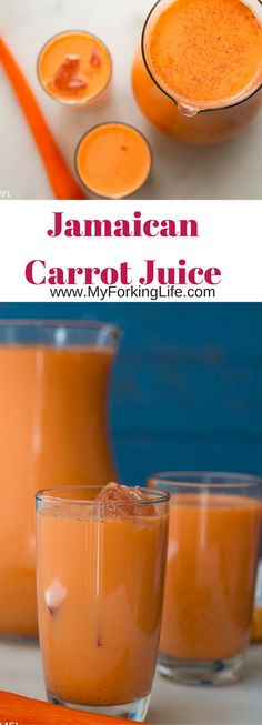 Jamaican Style Carrot Juice Recipe. Delicious taste. Easy to make.