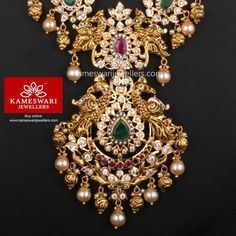Fancy Jewellery, Gold Jewellery Design, Gold Jewelry, Gold Necklace, India Jewelry, Fashion Jewellery, Statement Jewelry, Diamond Jewelry, Diamond Earrings