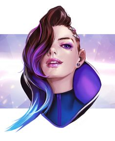 Wtf the FUCK is this. Why would you whitewash a girl named Sombra holy shit<< fr but it's good art tho tbh