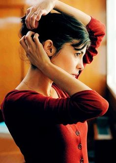 the icons - Vicki Archer Audrey Tautou, Draw Faces, Destin, Film Inspiration, Documentary Film, Film Stills, Actors & Actresses, Beautiful People, Silhouette