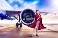 China Southern Airlines, Airline Uniforms, Airline Flights, Flight Attendant, Girls, Toddler Girls, Daughters, Maids
