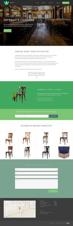 Site da Empresa Imperarte Cadeiras - Cidade dos Móveis