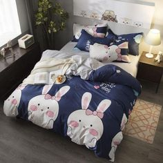 Bedding Set Fashion luxury Stars Home textile Duvet Cover Bed Linen Sheet Soft Comfortable King Queen Full Twin Size-in Bedding Sets Toddler Girl Bedding Sets, Toddler Bed, Bed Covers, Duvet Cover Sets, Pillow Covers, Set Fashion, Shabby, King Comforter Sets, Luxury Bedding Sets