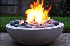 Who doesn't #love an #outdoor #firepit in #winter  #fire #flame #outdoorliving #homeinspo #backyard #backyard inspo #stone #pebble  https://gaslogfiresmelbourne.com/