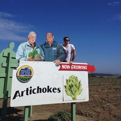 Three generations of artichoke farmers. {Jagger Photography}