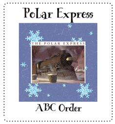 Polar Express ABC Order -- Freebie