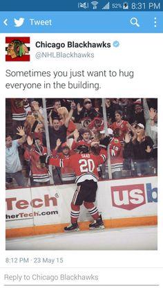 Haha! It's Saad! So adorable! Little Saad hugging everyone
