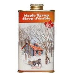 Jakemans 100% Pure Maple Syrup in White Litho Tin Bottle, 250ml: Amazon.com: Grocery & Gourmet Food