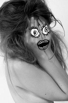 Hidden Identity - Face paint 4 | Flickr - Photo Sharing!: