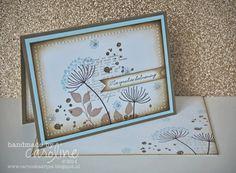 Caro's Kaartjes - voor Stampin' Up! inspiratie en het bestellen van Stampin' Up! producten: Summer Sihouettes condoleance kaart