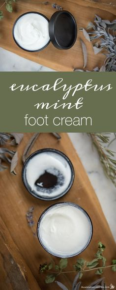 Eucalyptus Mint Foot Cream