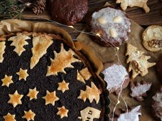Poppy seed cake and gingerbreads for Christmas Poppy Seed Cake, Xmas, Christmas, Gingerbread, Seeds, Cookies, Desserts, Recipes, Food