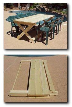 ❧ IDEA: Folding Table