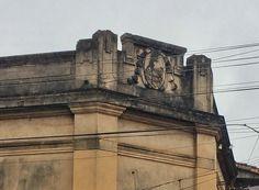 Detalle de una casona antigua de Asunción-Paraguay
