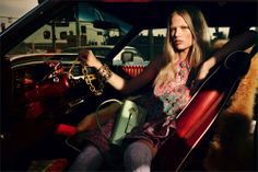#AnnaEwers by #MikaelJansson for #Interview magazine march 2014