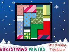 Christmas maths: stocking tessellation