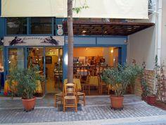 Athens Restaurants, Attica Greece, Neoclassical, Greek Recipes, The Fresh, Outdoor Decor, Centre, Menu, House