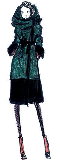 Cynthia Steffe  ---- Coffee Talks and Cat Walks: Fashion Week Fun: Designer Sketches